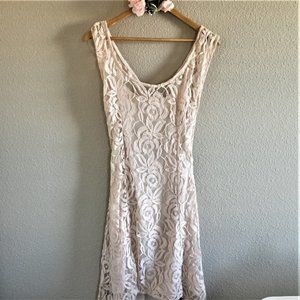 American Rag High Low Lace Dress - NWT